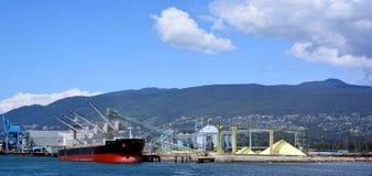Terminali della costa del Pacifico Fotografia Stock