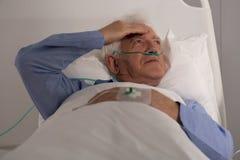 Terminally ill man Royalty Free Stock Photo