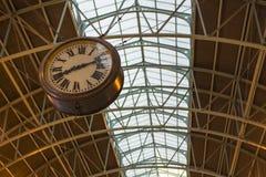 Terminaluhr am Hauptbahnhof, Sydney Australi Stockbilder