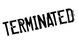 Terminated rubber stamp Stock Photography