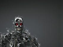 Terminateur de robot illustration libre de droits