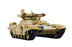 TERMINATEUR 2 Véhicule de combat russe d'appui feu BMPT-72 Photographie stock