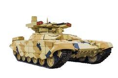 TERMINATEUR 2 Véhicule de combat russe d'appui feu BMPT-72 Photo libre de droits