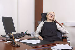 The termination of the working day Stock Photography