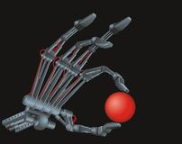 Terminator�s Hand Royalty Free Stock Images