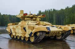 TERMINATOR 2 Fire Support Combat Vehicle BMPT-72 Stock Photo