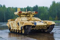 TERMINATOR 2 Fire Support Combat Vehicle BMPT-72 Royalty Free Stock Image