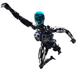 Terminator is flying Royalty Free Stock Photography