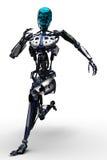 Terminator is running Royalty Free Stock Photo