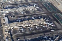 Terminaux d'aéroport international aériens de Los Angeles Photographie stock libre de droits
