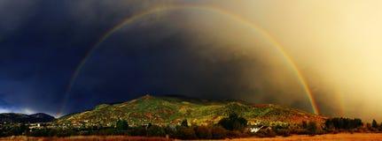 Termine el arco iris Imagen de archivo libre de regalías