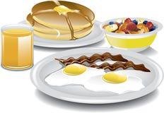 Termine o café da manhã Fotos de Stock