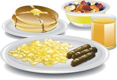 Termine o café da manhã Imagens de Stock