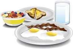 Termine o café da manhã Foto de Stock Royalty Free