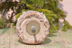Termine o disco para moer e limpar do metal, da madeira, da pintura e dos outros materiais imagens de stock