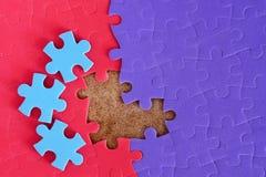Terminer le puzzle manquant illustration stock
