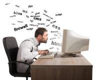 Termini di comprensione di Internet Fotografia Stock