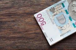 Termini nominali di /the dei soldi polacchi di zloty più alti fotografia stock libera da diritti