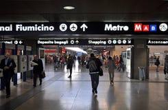 Termini Railway Sation, Rome Italy stock photos