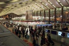Termini Station Rome Royalty Free Stock Photos
