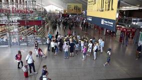 Termini train station stock footage