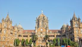 Terminus de Chhatrapati Shivaji image stock