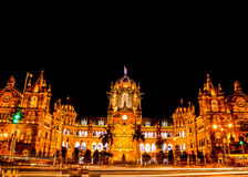 Terminus de Chhatrapati Shivaji Photographie stock libre de droits