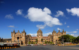 Terminus de Chhatrapati Shivaji photos libres de droits