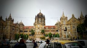 Terminus de sivaji de Chatrapati photo libre de droits
