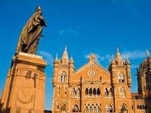 Terminus de Victoria dans Mumbai photos libres de droits