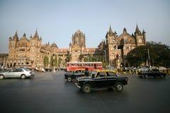 Terminus de Victoria, mumbai photo libre de droits