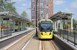 terminus tramwaj zdjęcie royalty free