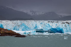 Terminus of Viedma Glacier in Southern Patagonia Royalty Free Stock Images