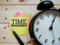 Terminy pracy życie balansują ` czasu zarządzania ` obraz royalty free