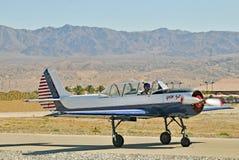 Termisk flygshow: Röda Eagle Squadron arkivbild