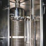 Termisk kamerautrustning på farmaceutisk tillverkning Royaltyfri Fotografi