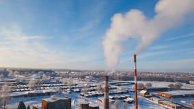 Termisk kraftverk, kokkärlhus arkivfilmer