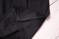 Termisk underkläder för sportar Detaljer material, närbild arkivbild