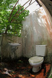 Termite geplagtes Haus Lizenzfreies Stockfoto