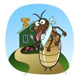 Termite go to house Royalty Free Stock Photo