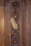 Termitenbienenstock auf Tür Lizenzfreie Stockbilder