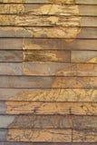 Termiti di legno della parete di struttura Fotografia Stock
