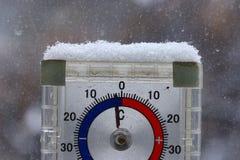 termómetro Fotografía de archivo