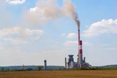 Termo centrale elettrica fotografie stock