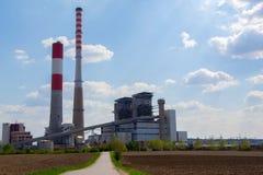 Termo centrale elettrica immagine stock