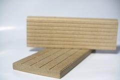 Termo-Platte hergestellt vom Mineralvermiculit Stockfoto