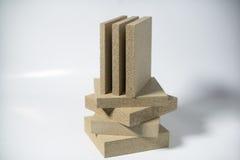 Termo-Platte hergestellt vom Mineralvermiculit Stockbild