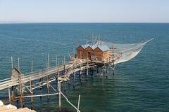 termoli αλιείας Ιταλία molise στοκ φωτογραφίες