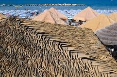 Termoli пляж в лете Стоковые Фото