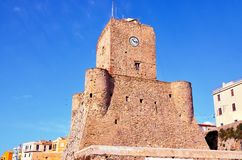 Termoli, Molise, Ιταλία Στοκ φωτογραφία με δικαίωμα ελεύθερης χρήσης